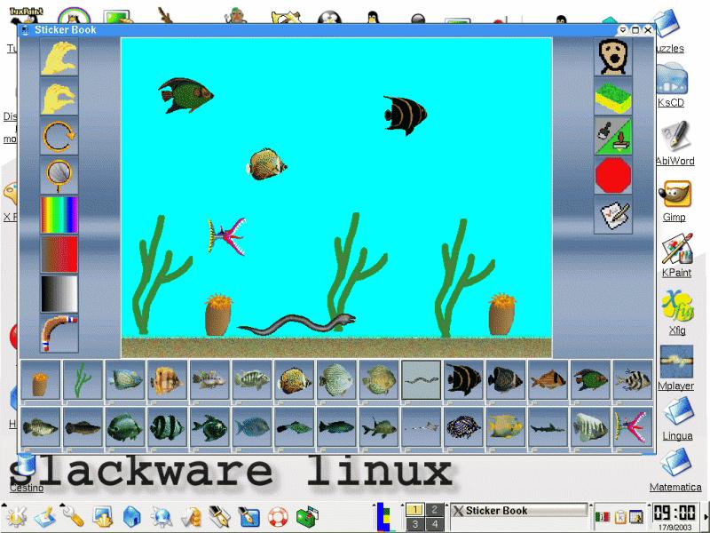Linux in classe il software didattico for Programma di disegno software